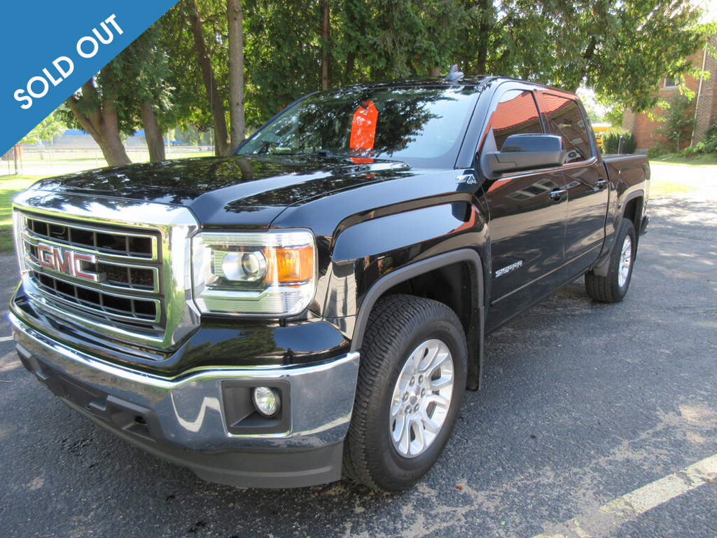2015 GMC Sierra 1500 4WD Crew Cab-sold-out