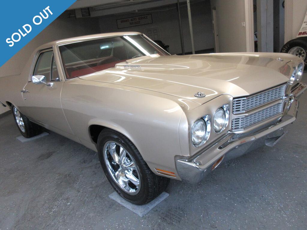 1970 Chevrolet El Camino-sold-out