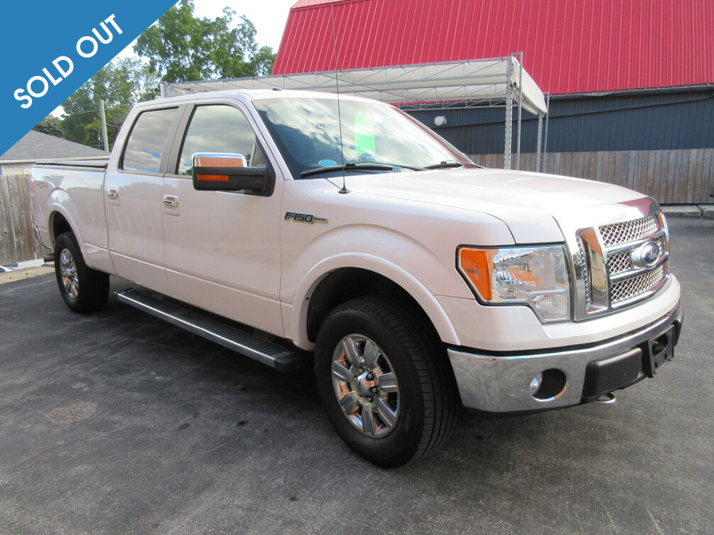 2012 Ford F-150-Soldout
