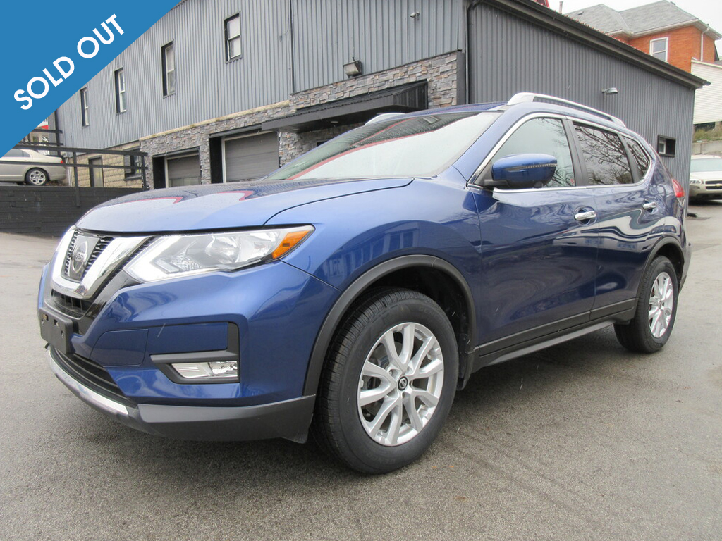 2017 Nissan Rogue AWD 4dr SV Soldout