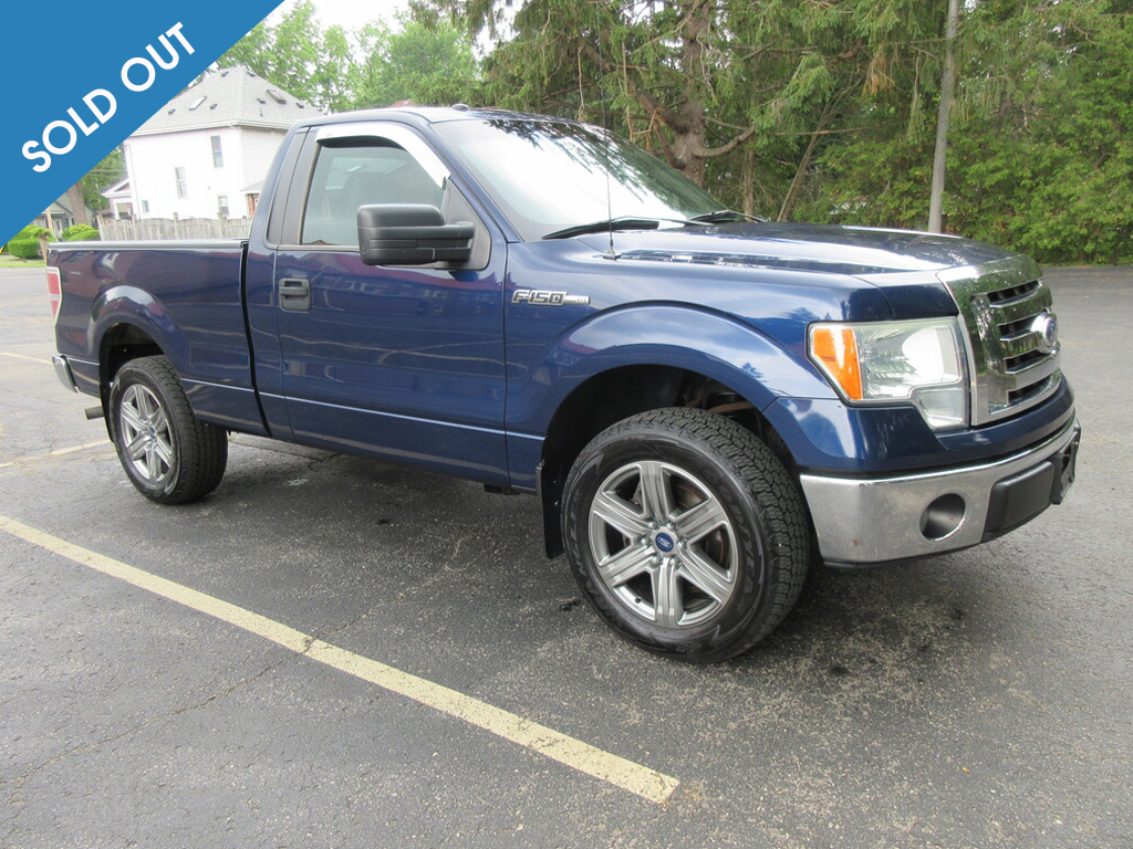 2010 Ford F-150 2WD Soldout
