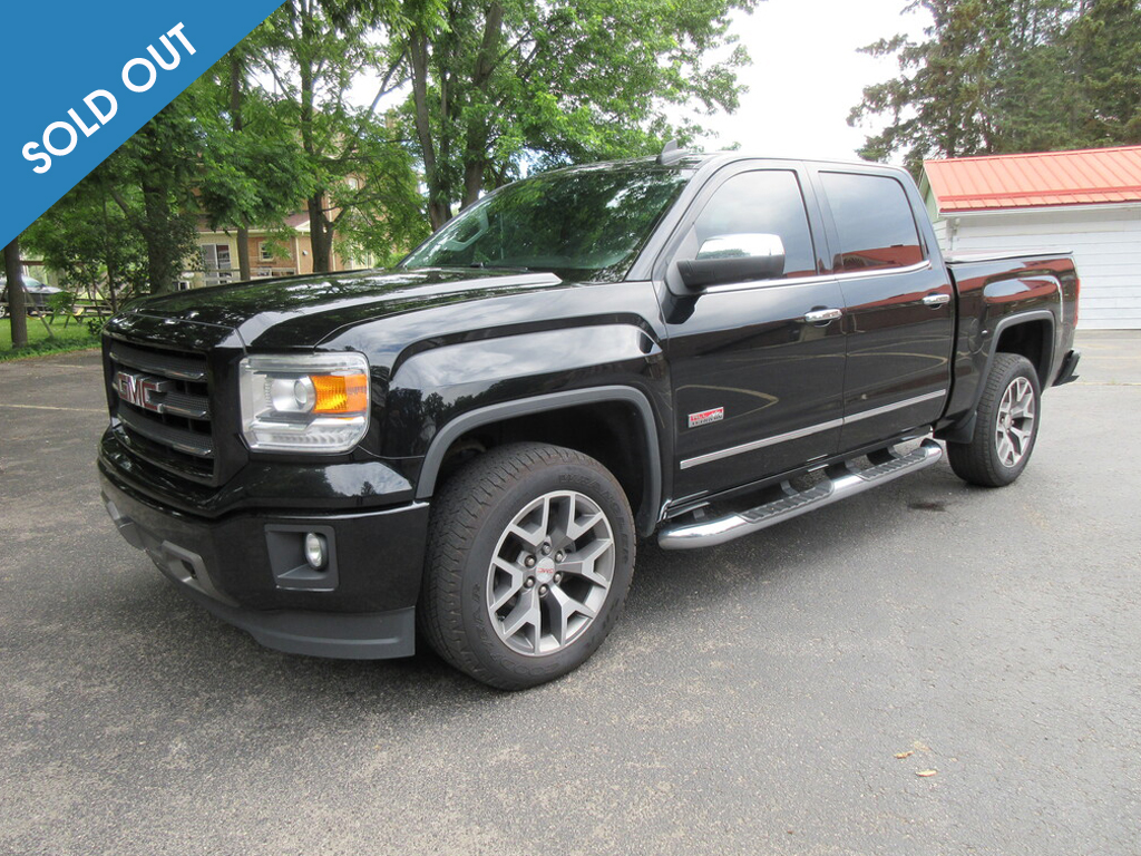 2015 GMC Sierra sold out